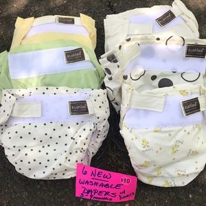 KUSHIES washable diapers NEW